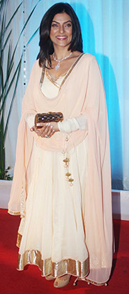 Sushmita Sen at Esha Deol's Wedding Reception