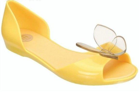 Melissa Jelly Shoes Bow Sandals Women Footwear Rains