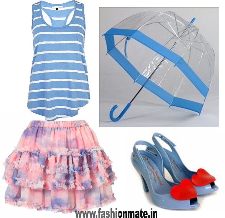 monsoon fashion gear-rain wear- summer fashion trends 2012