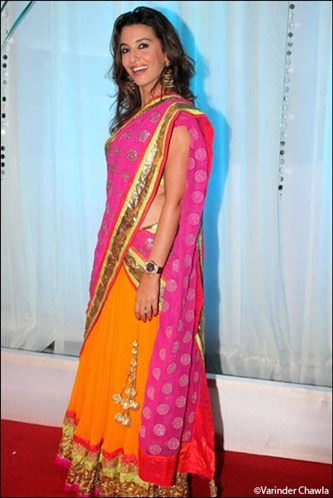 perizaad zorabian at Esha Deol's Wedding Reception