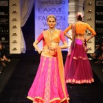 "Neeta Lulla recreates ""Radha"" before Janmasthami at Lakme Fashion Week Winter/Festive Coll..."