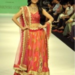 Amrita Rao walks for Agni in Jashn lehenga at IIJW 2012