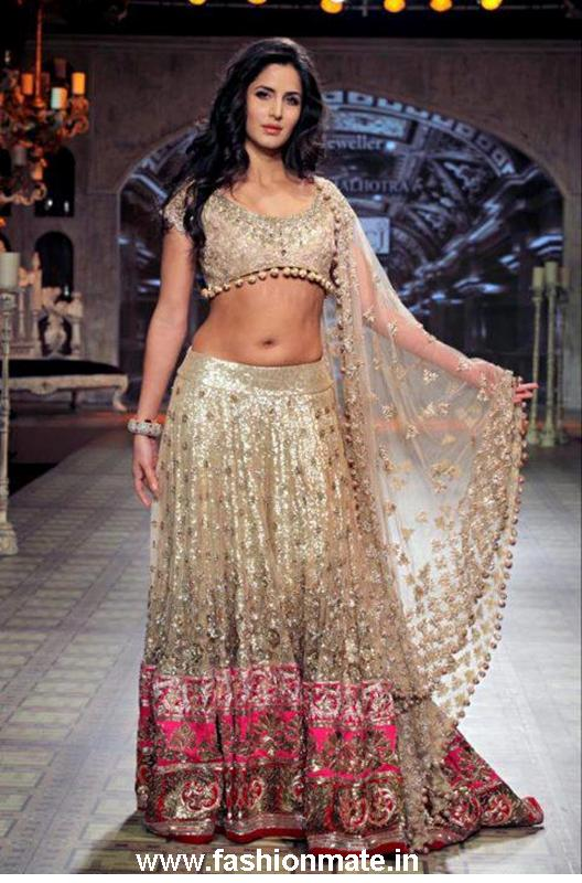 Katrina Kaif at Manish Malhotra Show PCJ Delhi Fashion Week 2012