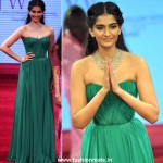 Sonam Kapoor wears Dolce and Gabbana at IIJW 2012