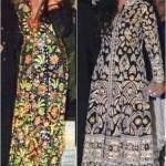 Aishwarya Rai Bachchan or Tabu.. Who flaunts the Designer Abu-Jani Sandeep Khosla Outfit Better??