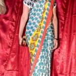 Sonam Kapoor in Yogesh Chaudhary Pacman Saree at Starweek Magazine Annviersary