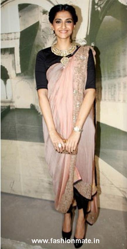 sonam kapoor in anamika khanna at Delhi Couture Week 2012 | Fashion ...