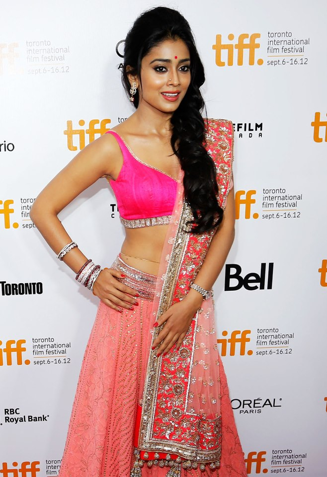 shriya saran in manish malhotra