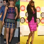 Priyanka is loving her Quirk | Aztec and Masaba prints for Barfi promotions.