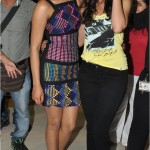 Priyanka Chopra, Ileana D'cruz and Ranbir Kapoor at Barfi Promotions