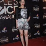 Ragini Khanna in a quirky printed LBD at People's Choice awards 2012