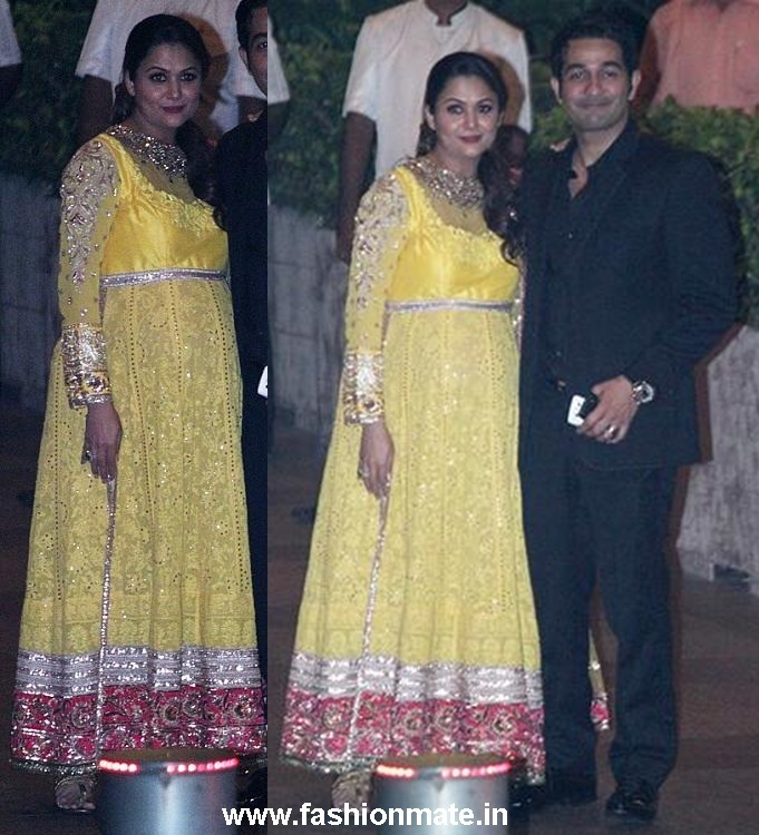 Amrita Arora at Saif Kareena Nikah Ceremony