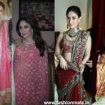 Kareena Kapoor stuns all as a Bride at her Wedding| Kareena's Bridal Dress