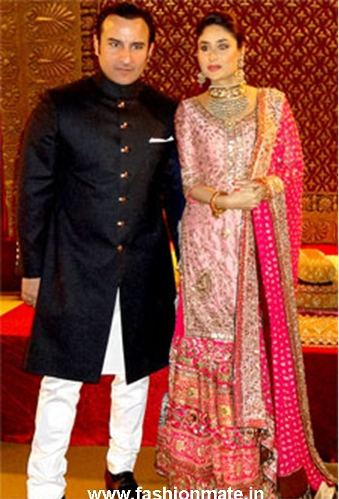 Kareena Kapoor Bridal Dress at her Walima (Wedding Reception)