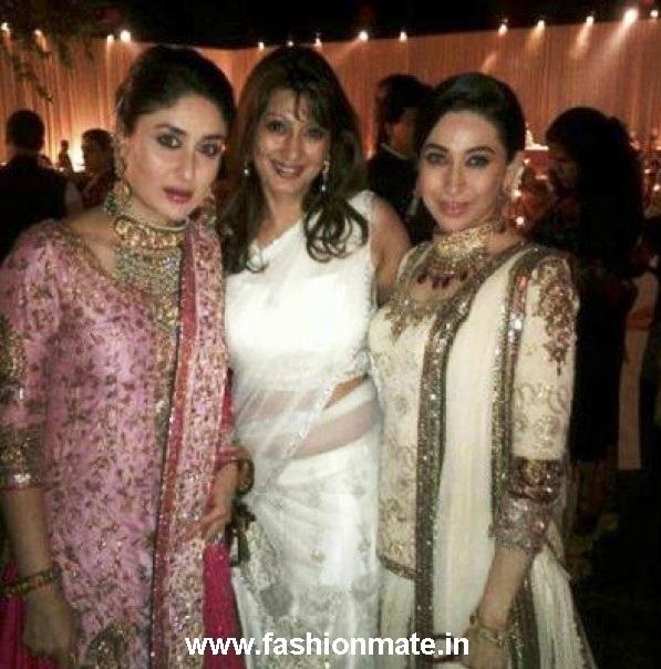 Looks - Kapoor kareena at her wedding reception video