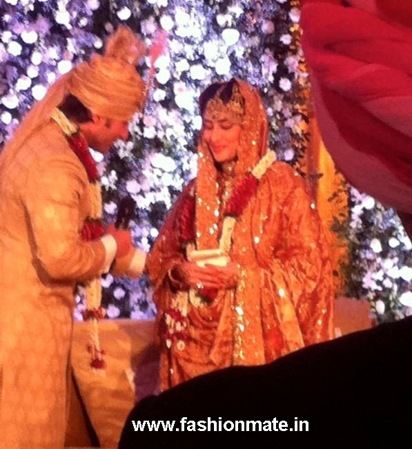 Kareena Kapoor Saif Wedding Nikah Ceremony