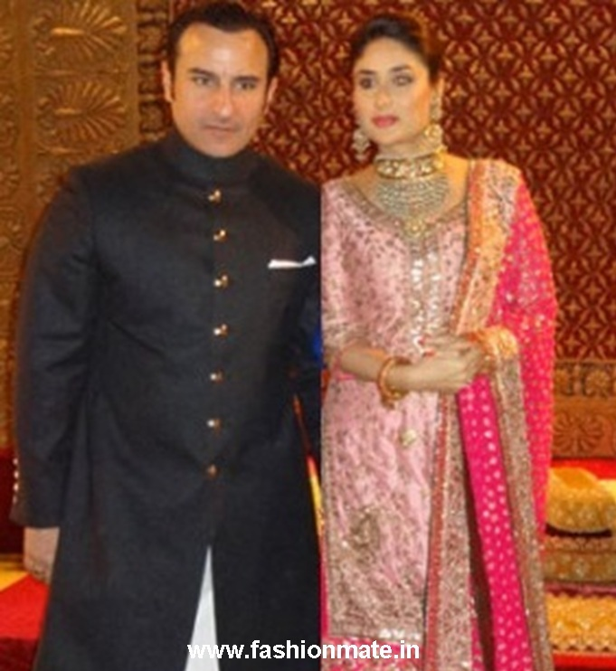 What Kareena and Saif wore at their Walima-Wedding Reception in ...