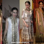 Karishma Kapoor at Kareena's Wedding| What she wore!