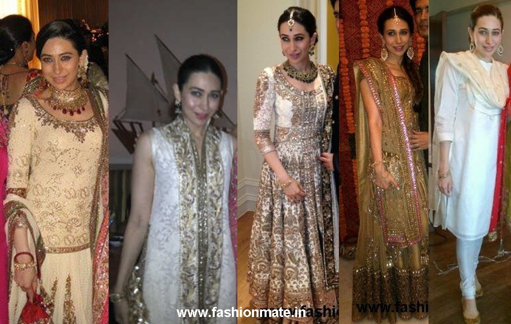 Karishma Kapoor at Kareena Kapoor's Wedding