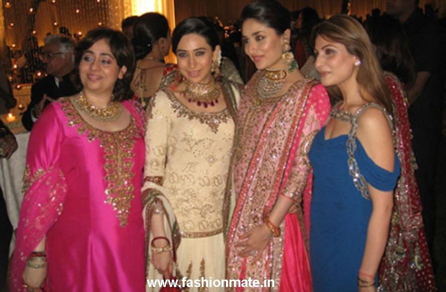 Karishma Kareena at Kareena Kapoor's Walima-Wedding Reception Delhi