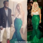 Kim Kardashian becomes a Mermaid for Halloween!