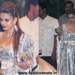 Natasha Poonawala in silver foil at Saif Kareena Wedding