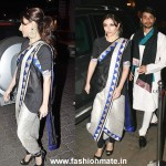 Soha Ali Khan in Anamika Khanna at Saif-Kareena's Sangeet