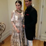 Karishma Kapoor in Manish Malhotra at Sister Kareena Kapoor's Nikah Ceremony