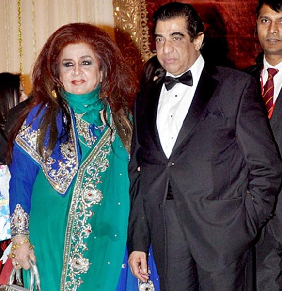 Shehnaz Hussain as guest at Saif Kareena Walima