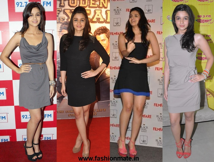 Alia Bhatt in short dress at SOTY movie promotions | Fashion Mate