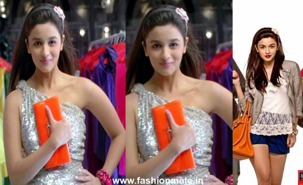 Alia's fashionable & sexy flower headband