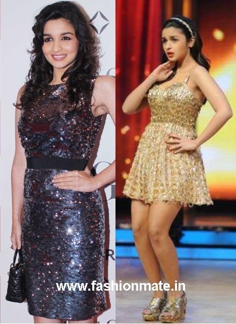 Newbie Alia Bhat's (@Aliaa08) Fashion round-up for SOTY Promotions ...