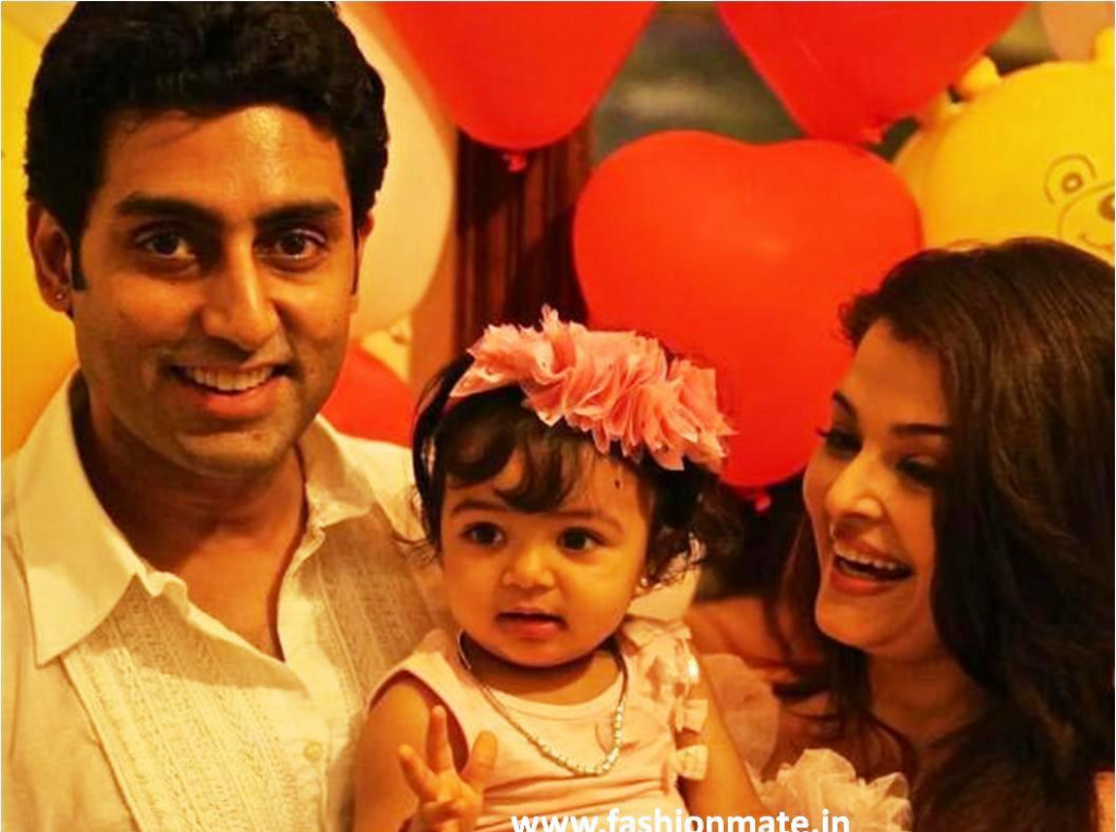 aishwarya with daughter aaradhya on her birthday