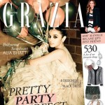 Alia Bhatt (@aliaa08) on Cover of Grazia- Dec 2012 (@GraziaIndia)