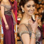 Ileana Dcruz in Tarun Tahiliani at the Marrakech film festival