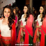 Karishma Kapoor in Manish Malhotra at Masala! awardas 2012 Dubai