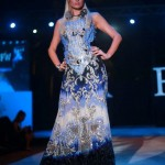 Paris Hilton walks the ramp for Falguni and Shane Peacock at India Resort Fashion Week Goa