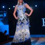 Paris Hilton walks the ramp for Falguni and Shane Peacock at India Resort Fashion Week Goa