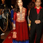 In Manish Malhotra: Sophie Chaudhary at Masala Awards 2012, Dubai