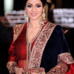 Sridevi in Manish Malhotra at the Marrakech Internation Film Festival
