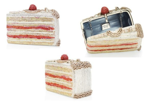 Latest fashion Cake slice clutch for 2013