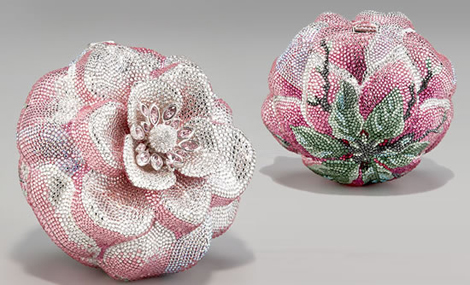 Latest Trend 2013- Crystal Rose Clutch by Judith Leiber