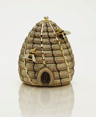 latest fashion trend 2013- beehive clutch by judith leiber