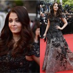 Aishwarya Rai Bachchan once again makes a Fashion Statement at Cannes 2013