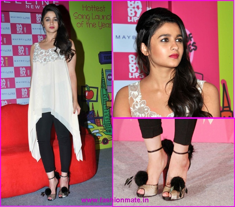 Alia Bhatt Baby Lips Kiss song