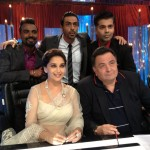Hot or Not? Madhuri Dixit in Tarun Tahiliani at sets of Jhalak Dikla Jaa