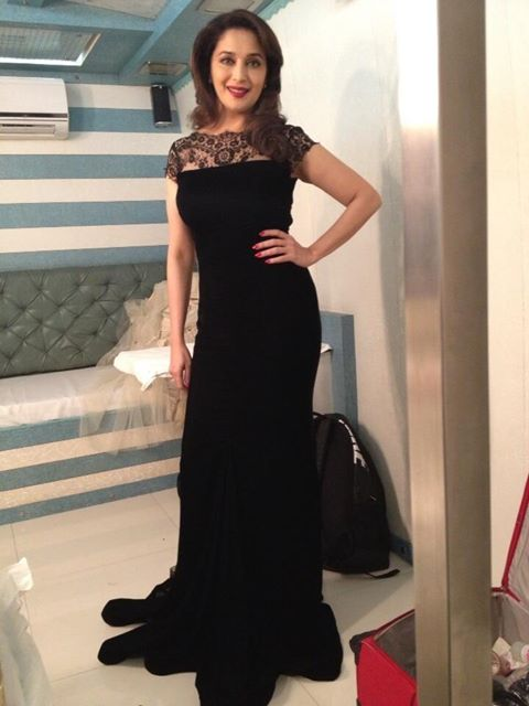 Madhuri Dixit in Gauri and Nainika Gown
