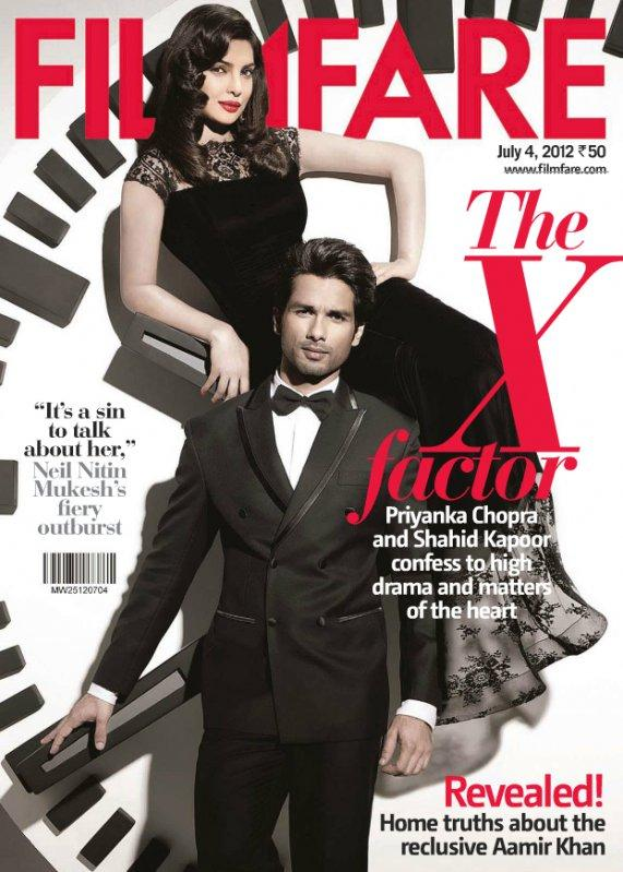 Priyanka Chopra in Gauri and Nainika on Femina Cover