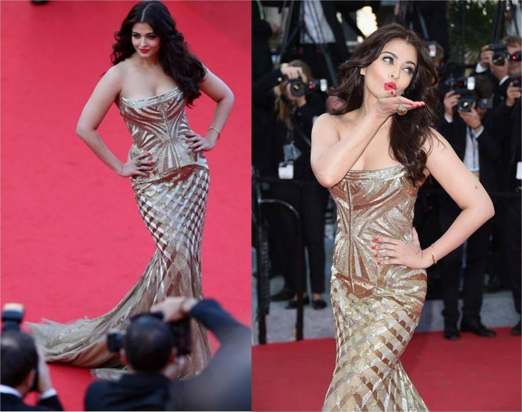 Aishwarya rai bachchan at Cannes film festival 2014