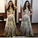 Esha Gupta in Manish Malhotra for Humshakals Promotions